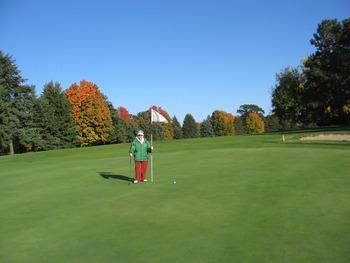Golf course near Oak Cove Resort.