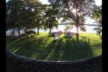 Wedding at Mallard Point Resort.