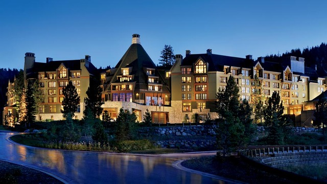 Exterior view of Ritz-Carlton Lake Tahoe.