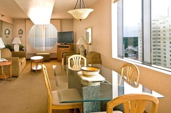 Penthouse interior at Four Sails Resort.