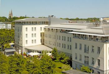 Exterior view of Hansa Apart-Hotel Regensburg.