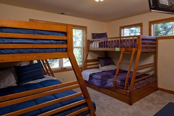 Rental bunk room at Pullen Rental Group.