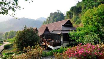 Exterior view of Angkhang Nature Resort.