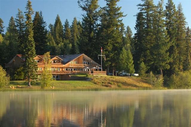 Tyee lake lodge mcleese lake british columbia resort for British columbia fishing lodges