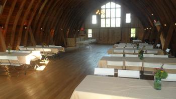 Reception at Five Lakes Resort.