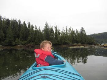 Kayaking at Blackfish Lodge.