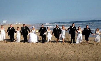 Beach Weddings at The Waterfront Beach Resort