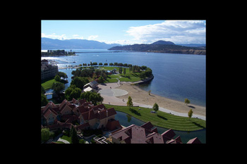 View from Kelowna Resort.