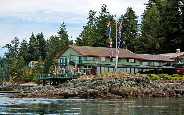 April Point Resort Spa Quadra Island British Columbia