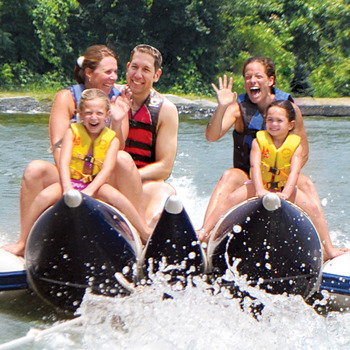 Family Water Activities at Rocking Horse Ranch Resort