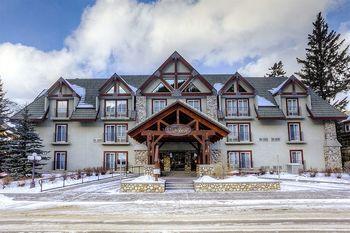 Exterior view of Banff Inn.