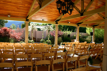 Wedding ceremony at The Broadmoor.