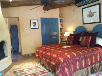 King suite at Inn on La Loma Plaza.
