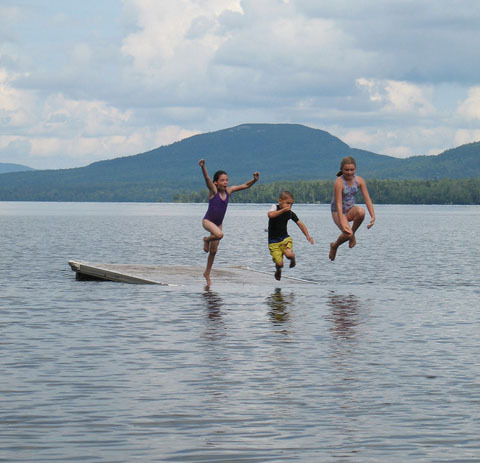 Water Activities at The Birches Resort