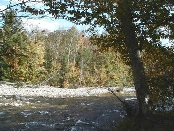 Saco River at Attitash Mountain Village