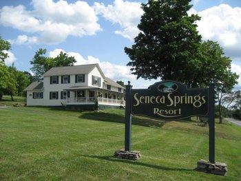 Exterior view of Seneca Springs Resort.