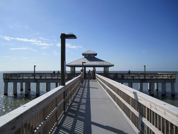 Fishing pier at The Holiday Court.