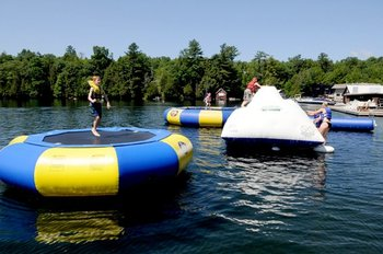Water fun at Rocky Crest Golf Resort.