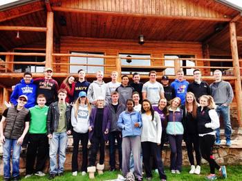 Groups at C Lazy U Ranch.