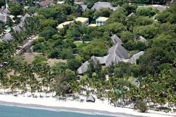 Aerial view of Kilili Baharini Resort.