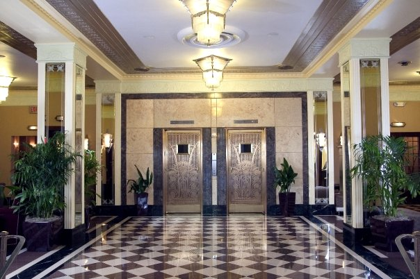 The Lobby at the Ambassador Hotel