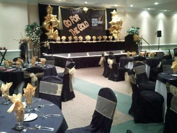 Special occasion at Sea Trail Resort.