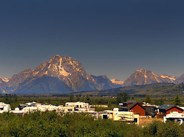 Mountain View Near Teton Range Resort