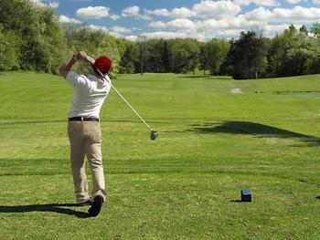 Golf course near Birchcliff Resort.