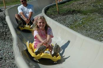 Alpine Slide near Five Star Rentals of Montana.