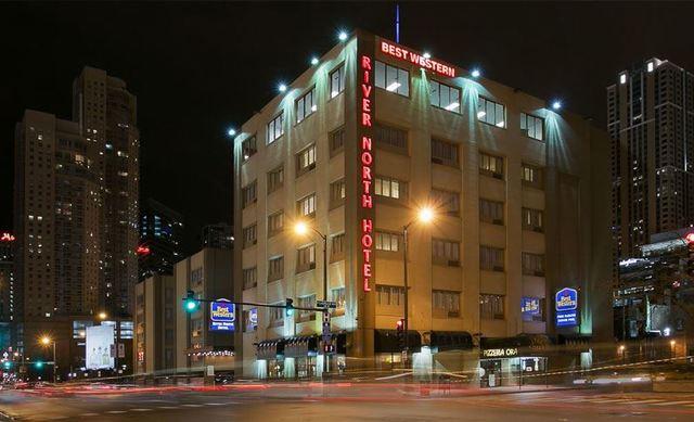 Best western river north hotel chicago il resort for Best hotels in river north chicago