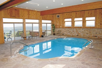 Indoor Pool at Railey Mountain Lake Vacations