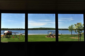 Lake view at Agate Lake Resort.