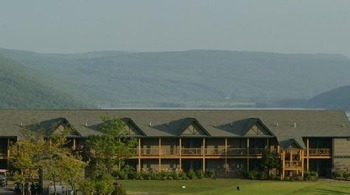 Exterior View of Bristol Harbour Resort