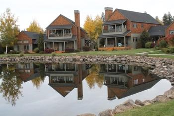 Vacation rental exterior at Sisters Vacation Rentals.