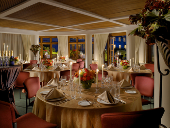 Wedding reception at The Woodstock Inn & Resort.