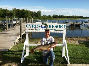 Fishing at Cyrus Resort.