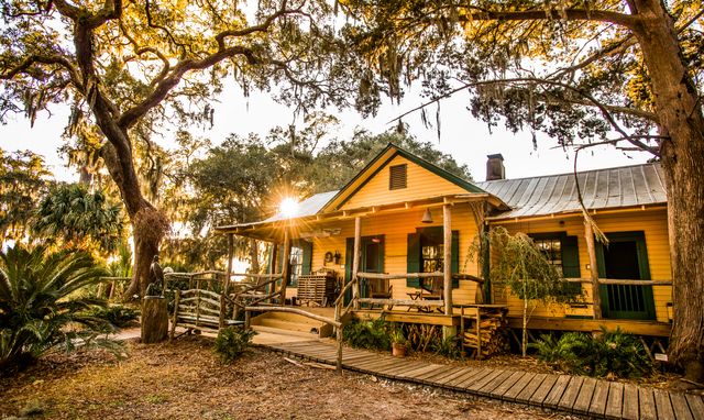 The Hunting Lodge at Lodge on Little St. Simons Island.