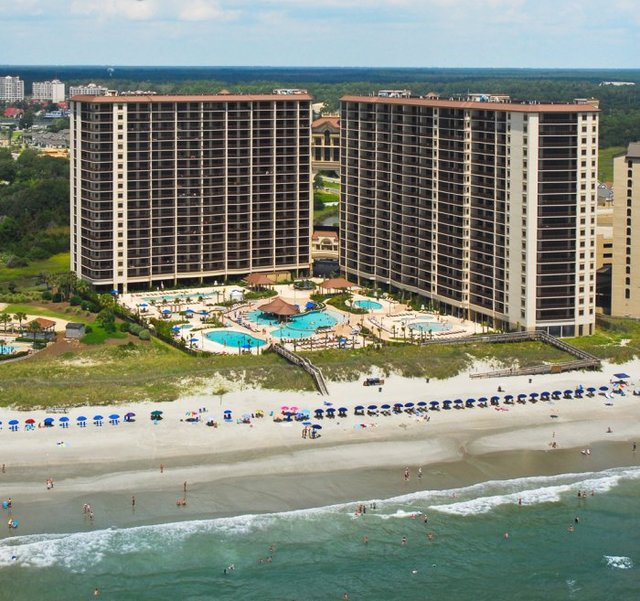North Beach Plantation North Myrtle Beach Sc Resort
