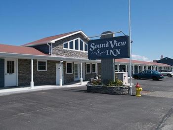 Exterior view ofSound View Inn Hotel.