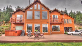 Vacation rental exterior at SkyRun Vacation Rentals - Nederland, Colorado.