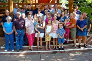 Family reunions at Ram's Horn Village Resort.