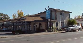 Exterior view of Regency Inn.