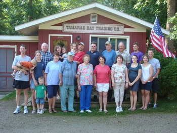 Family reunions at Tamarac Bay Resort.
