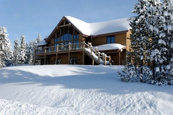 Vacation Rental Exterior at Big Sky Condo Rentals