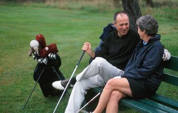 Golfing near Rabbit Hill Inn.