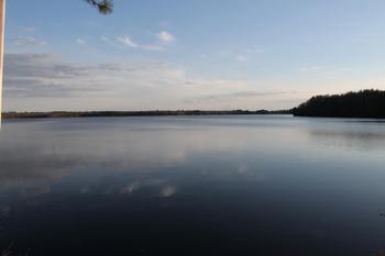 Lake view at Pitlik's Sand Beach Resort.