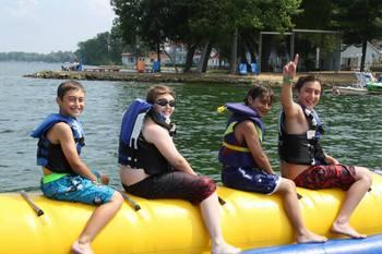 Water fun at Fern Resort.