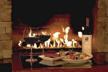 Dining at Pala Mesa Resort.
