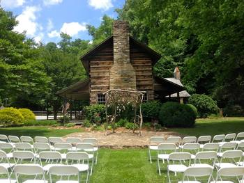 Wedding at Leatherwood Mountains Resort.