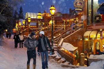Holidays at BlueSky Breckenridge.